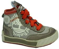 Boys Infants Kids Timberland Metro Canvas Leather Boots Shoes Size UK 4  EU 20.5