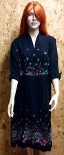 Stunning 1940s Pure Silk Dress UK 10-12