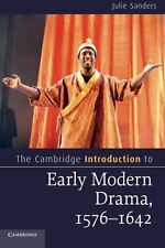 The Cambridge Introduction to Early Modern Drama, 1576-1642 (Cambridge Introduct