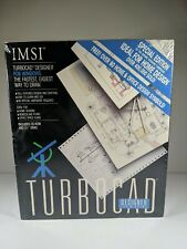 Vintage TURBO CAD SOFTWARE DRAW IMSI for Windows Microsoft Compatible 1992
