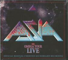 ASIA - Live At The London Forum Omega Tour CD X2 New Sealed