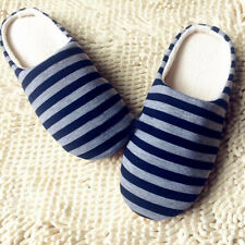 Men Home House Anti-slip Shoes & Women Winter Warm Cotton Sandal Indoor Slippers
