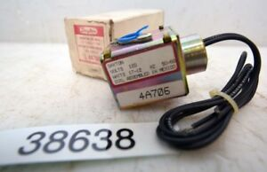 Dayton Solenoid Valve Coil 4A706 9Inv.38638)