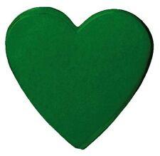 Confettis de scène en forme de coeur vert sapin 100 grammes Papier de soie
