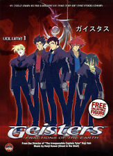 Geisters: Fractions of the Earth - Volume 1 (DVD) **New**