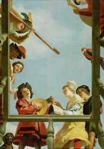Gerard van Honthorst Musical Group Giclee Canvas Print Poster LARGE SIZE