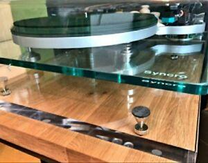 Pro-Ject, Rega 'Crystal Acryl' Premium Acoustic Isolation Platform - 45x45x2cm