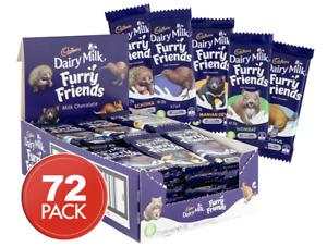 Cadbury Furry Friends 72 x 20g Chocolate Bars Bulk Value Pack Kids Treat Lollies