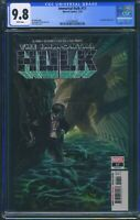 Immortal Hulk 17 (Marvel) CGC 9.8 White Pages Al Ewing story Alex Ross cover