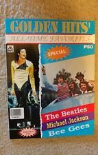 THE BEATLES Golden Hits All-Time Favorites Collector's Songbook Magazine(Jingle)
