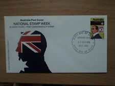 Australia 1976 27 Sep FDC National Stamp Week. ACT Canberra City P/M