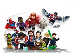 LEGO - 71031 Disney+ MARVEL Studios Minifgure Series - Complete Full Set of 12