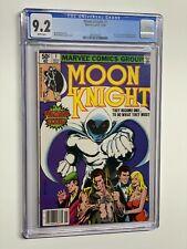 Moon Knight 1 CGC 9.2 WP 1980 Marvel