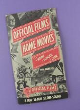 1946 ORIGINAL CINE catalogue-Officiel films films à la maison pour la maison, école, club