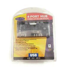 NEW | Belkin 4-Port USB Hub | Adapter / USB / Cable Power Supply | F5U021 | F/S