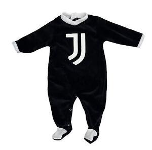 Tutina in ciniglia Juventus neonato da 1 a 12 mesi autunno inverno 2021 2022