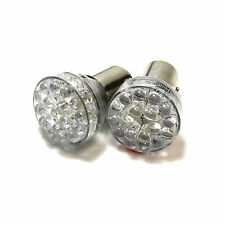 2x Red 24-LED [BAY15D,380,1157,P21/5w] 12v Bulbs Stop/Brake Light Bulbs