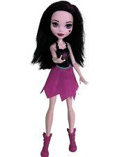 "Monster High Draculaura Ghoul Spirit Cheerleading Doll, MH Retired Original 11"""
