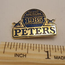 VINTAGE 1985 PETERS GRAND AMERICAN PIN - NEW - FREE SHIPPING