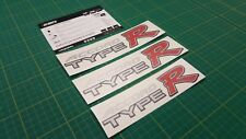 Accord Type R Type-R CL7 K20 decals stickers graphics Type S saloon hatch JDM