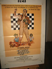 Greased Lightning Original 1sh Movie Poster '77 race car driver Richard Pryor