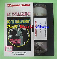 film VHS cartonata IO TI SALVERO'Alfred Hitchcock Bergman L'ESPRESSO(F16) no*dvd