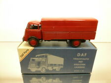 LION CAR - DAF A50 1500 SPLIT WINDOW - RED 1:50 - VERY GOOD CONDITION IN BOX