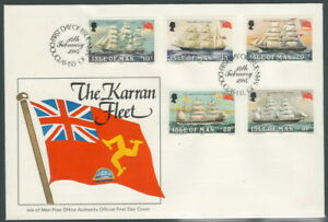 ISLE OF MAN 1984 - The Karran Fleet - shop , boat - FDC