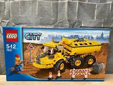 LEGO® City 7631 Kipper mit Knickgelenk, neu, OVP
