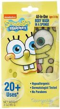 Spongeables SpongeBob Shower Product, Square Pants, 3 Ounce