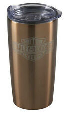 Harley-Davidson Bar & Shield Copper-Plated Stainless Steel Travel Mug HDX-98626