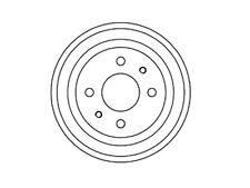 Coppia tamburi freno posteriori Autobianchi Fiat - TF252305