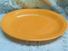 FIESTA TANGERINE MEDIUM OVAL PLATTER - 11 5/8* LONG