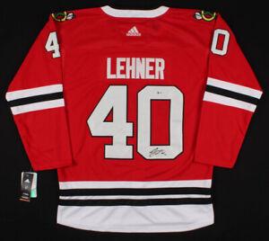 Robin Lehner Signed Chicago Blackhawks Jersey (Beckett) Playing career 1991–2007