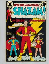 Shazam! #3  The Original Captain Marvel from 1973  VF Black Cover Beauty!