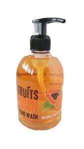 Hand Wash. Natural Fruits Extract. Pineapple And Papaya.