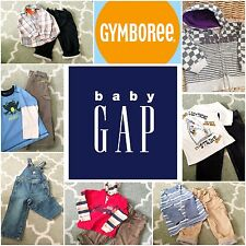 Boys 3T Winter Lot GAP GYMBOREE Clothes Jeans Cargos Hoodie Overalls Jacket New