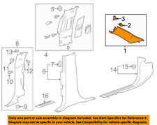 GM OEM Interior-Wndshld Pillar Trim Right 23483729