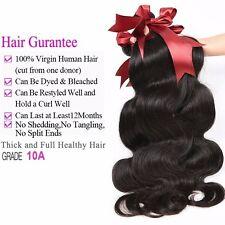 10A Mink Brazilian 100% Virgin Human Hair - Body Wave-20 in- BUY 3, GET 1 FREE!