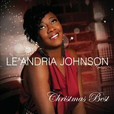 FREE US SHIP. on ANY 2 CDs! ~Used,VeryGood CD Le'Andria Johnson: Christmas Best