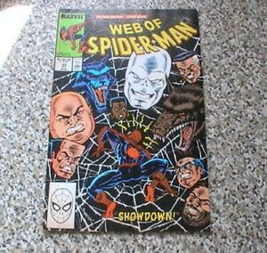 WEB OF SPIDER-MAN  # 55      MARVEL COMICS