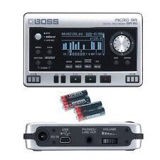Boss Micro BR BR-80 Digital Recorder w/4 Universal Electronics AA Batteries New