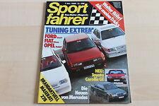 149756) Fiat Spidereuropa Volumex - Mazda 626 Coupe 2.0 - Sport Fahrer 01/1985