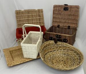 Wicker Basket Bundle