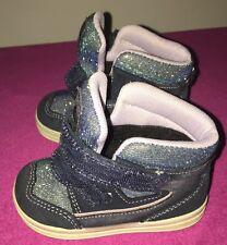 Bama Schuhe Mädchen Blau Glitzer Größe 21, Sehr Guter Zustand