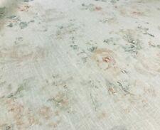 "Ralph Lauren Rose ""Camille Floral"" Watercolor English Floral Linen Print Fabric*"