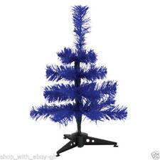 Árboles de Navidad color principal azul de plástico
