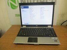 "HP ELITEBOOK 6930P 14.1"" C2D 2.26GHZ 4GB 120GB Webcam DVDRW Laptop + AC"