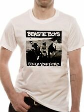 Beastie Boys Check Your Head Mens T-Shirt Licensed Top White XL
