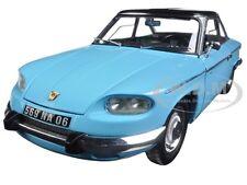 1964 PANHARD 24 CT TOLEDE BLUE / BLACK 1/18 DIECAST CAR MODEL BY NOREV 184501